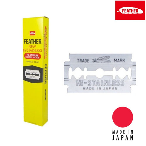 Feather Japan HI-STAINLESS Double Edge Replacement Blade - Japan Scissors