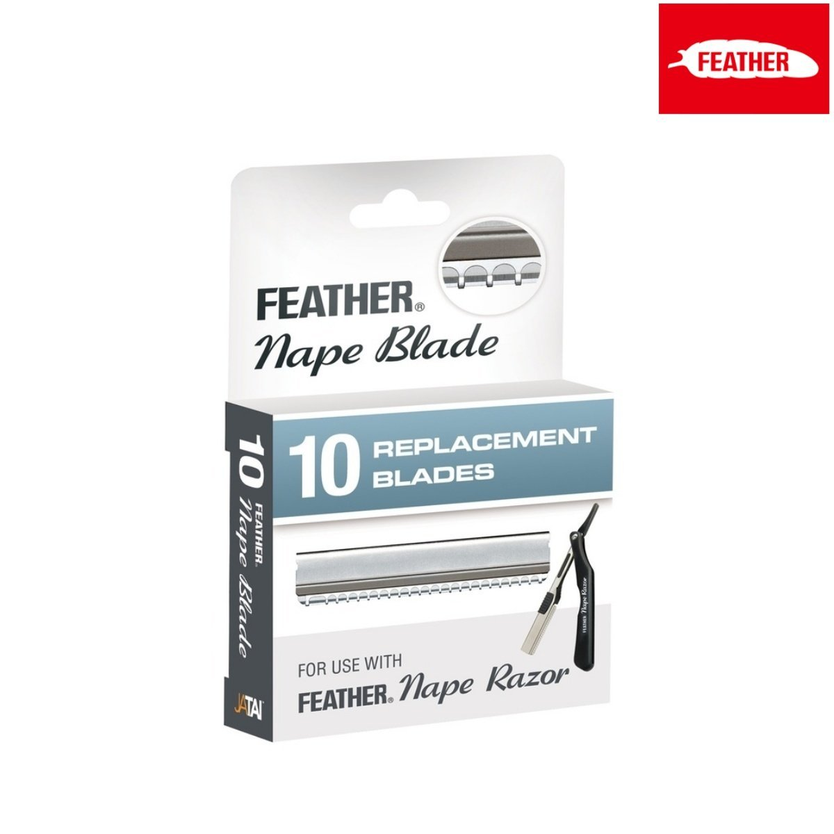 Feather Nape Razor Replacement Blade - Japan Scissors