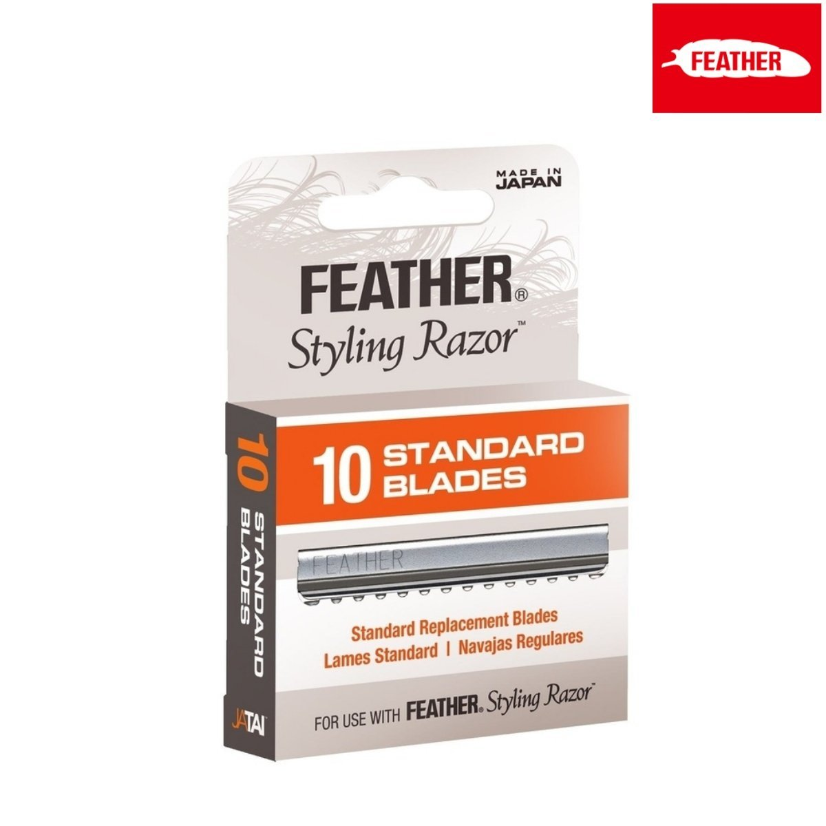 Feather Standard Blades For Styling Razor - Japan Scissors