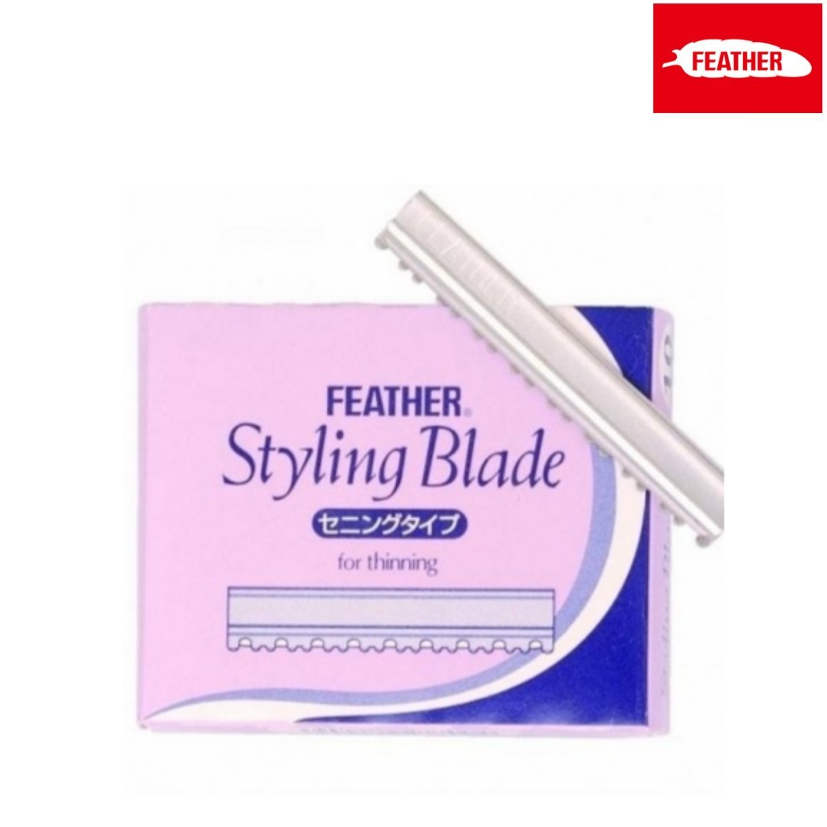 Feather Styling Razor Thinning Replacement Blade - Japan Scissors
