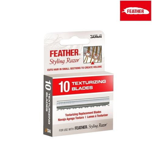Feather Texturizing Blades For Styling Razor - Japan Scissors