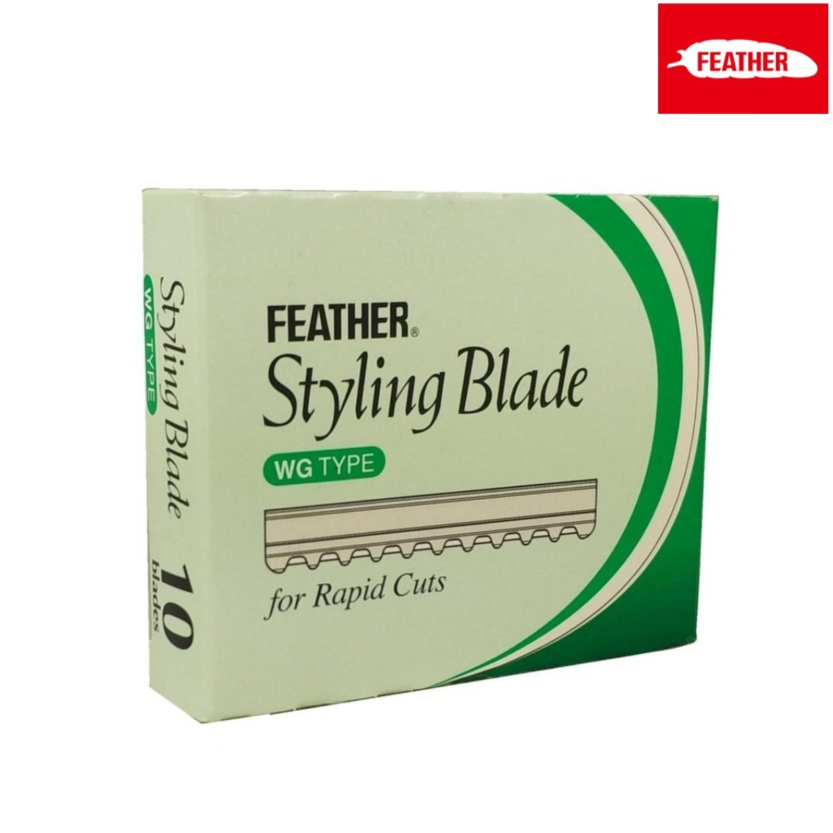Feather WG Blades For Styling Razor - Japan Scissors