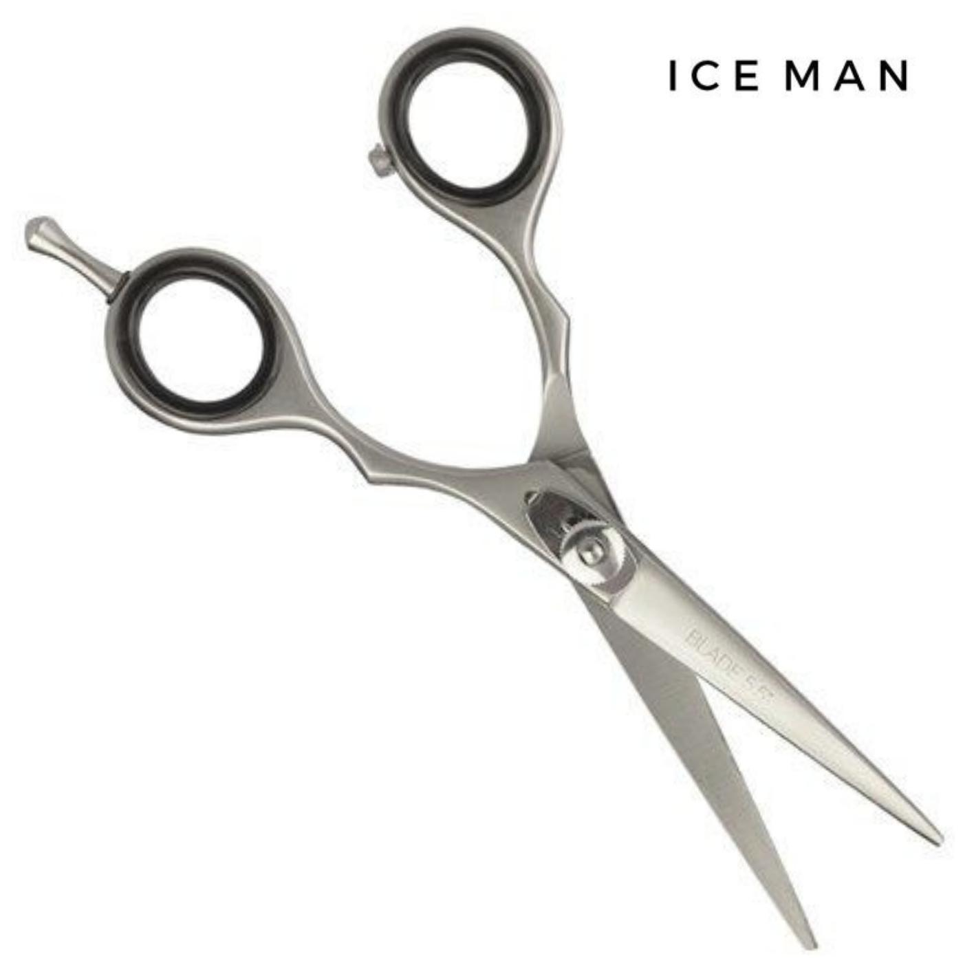 "Iceman 5.5"" Satin Hairdressing Scissors - Japan Scissors"