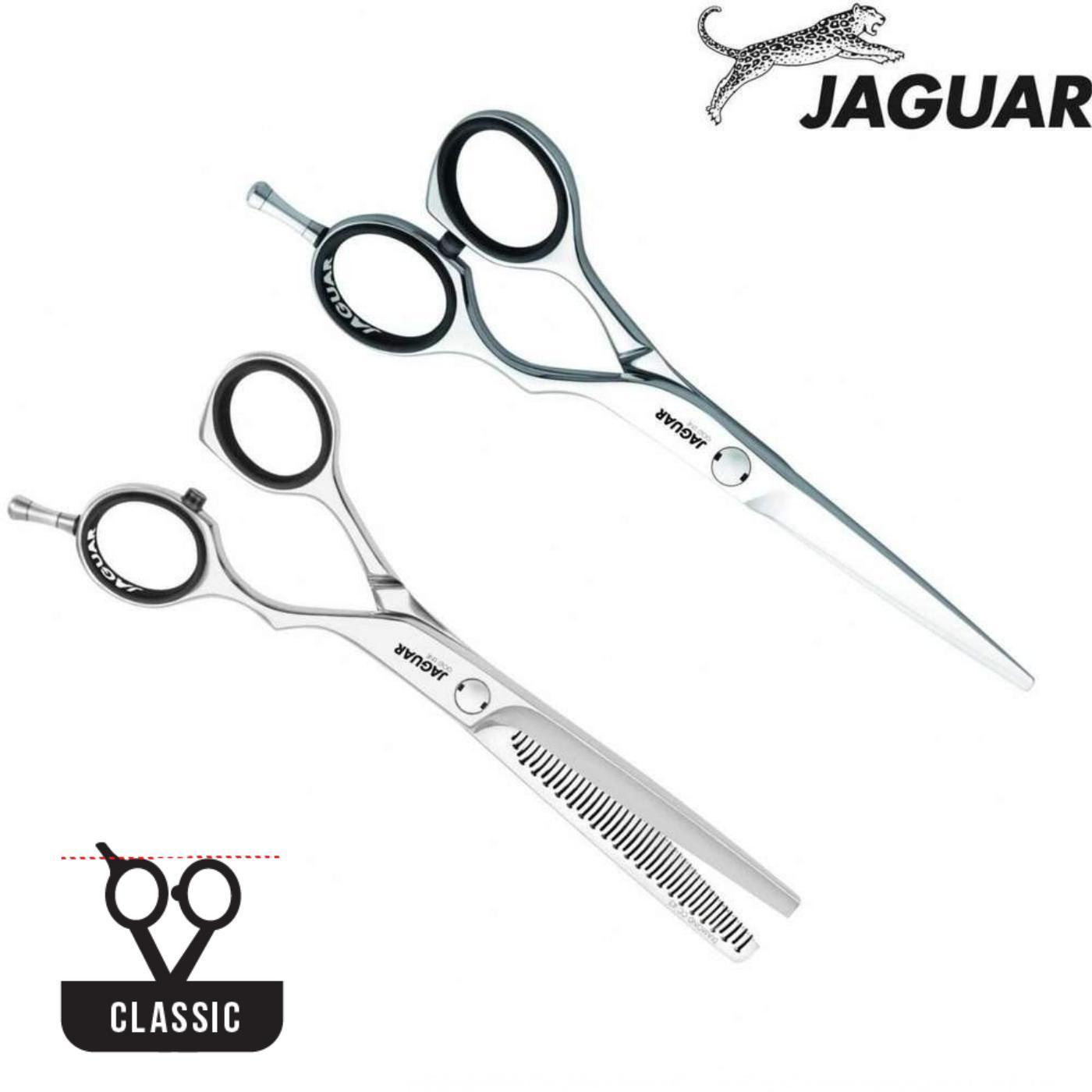 Jaguar Gold Line Diamond E Offset Cutting & Thinning Set - Japan Scissors