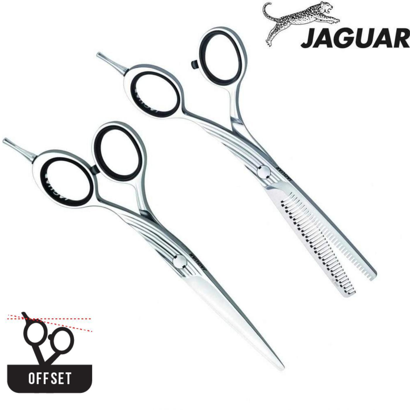 Jaguar Gold Line Lane Offset Cutting & Thinning Set - Japan Scissors