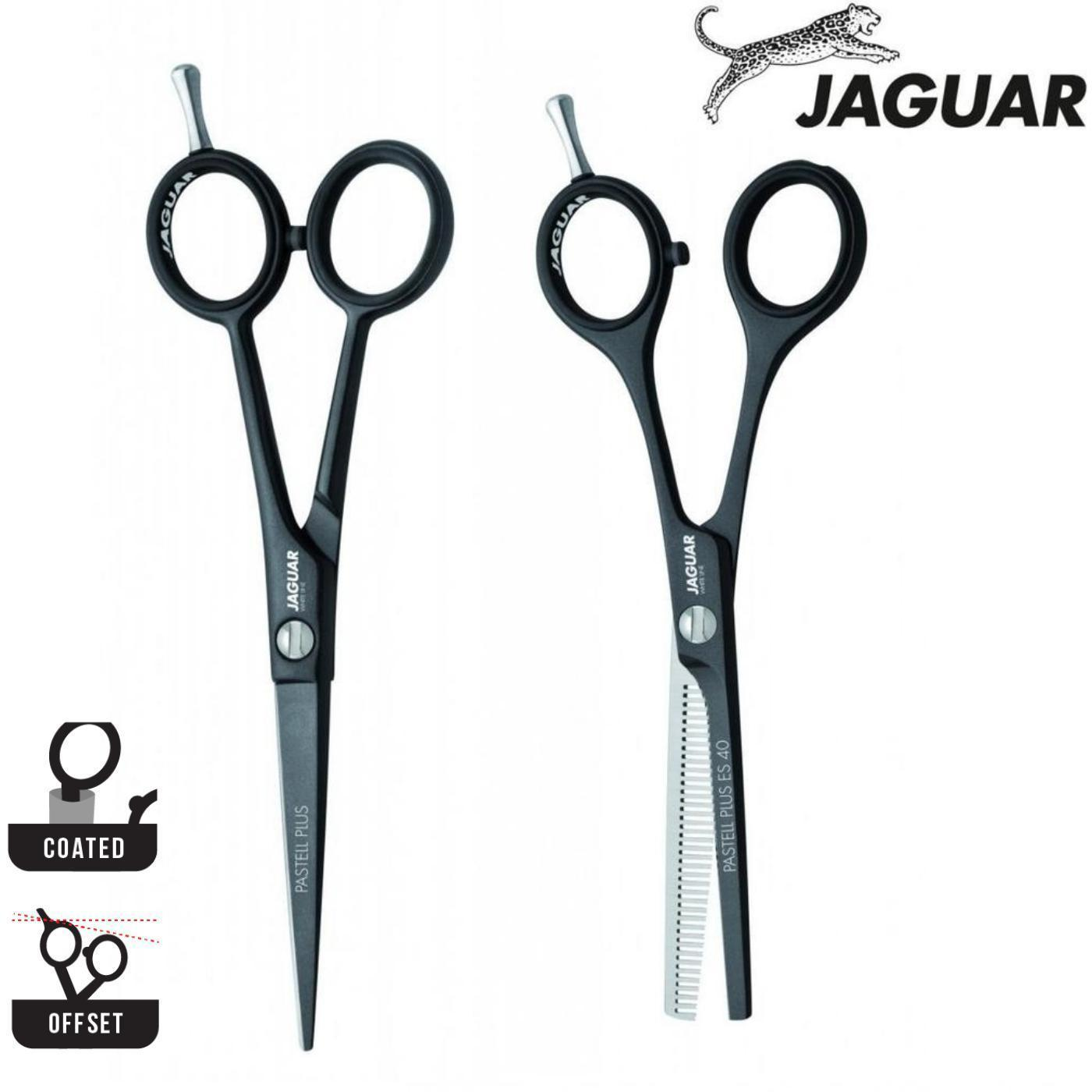 Jaguar Pastell Plus Black Lava Cutting & Thinning Set - Japan Scissors