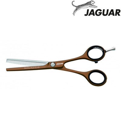 Jaguar Pastell Plus ES40 Chocolate Thinning Scissors - Japan Scissors