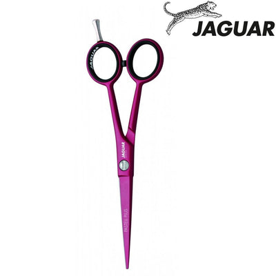 Jaguar Pastell Plus Pink Chili Hairdressing Scissors - Japan Scissors