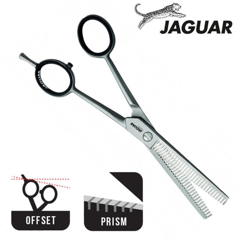 "Jaguar Satin Double Sided 6.0"" Hair Thinning Scissors - Japan Scissors"