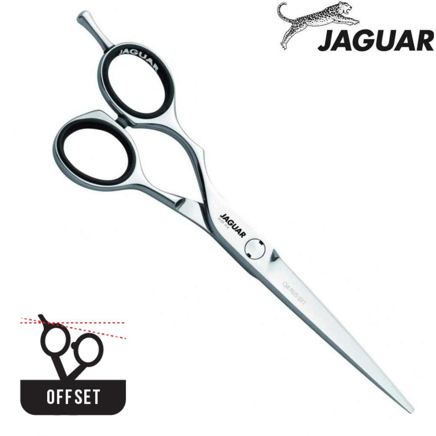 Jaguar Silver Line CJ4 Offset Hair Cutting Scissors - Japan Scissors