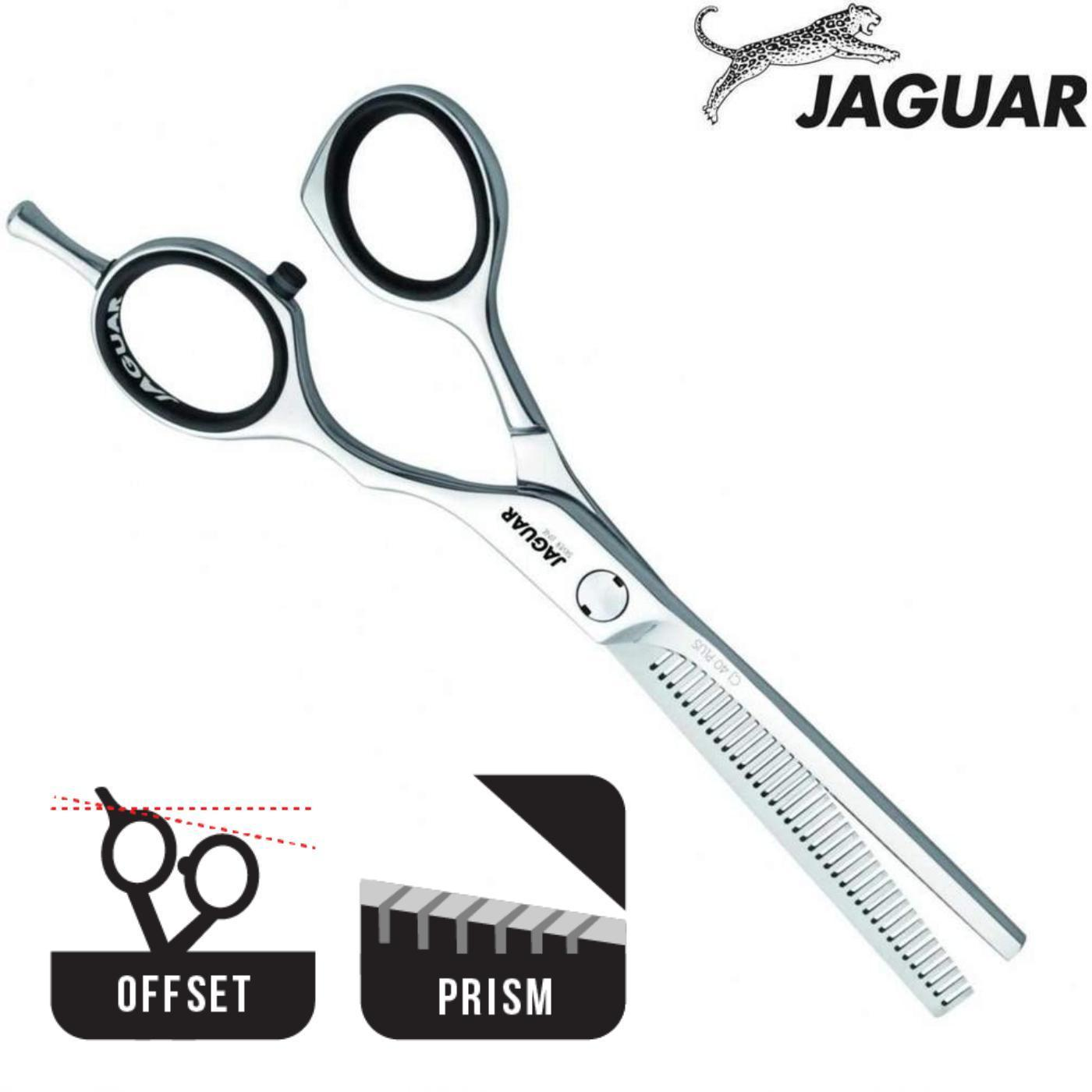 Jaguar Silver Line CJ4 Offset Hair Thinning Scissors - Japan Scissors