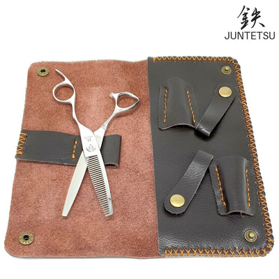 Juntetsu Offset 6 Inch Thinning Scissors - Japan Scissors