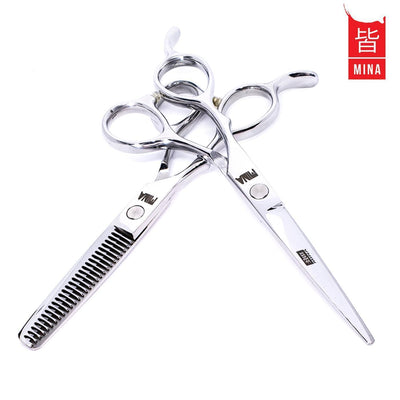 Mina Jay Lefty Cutting & Thinning Scissors Set - Japan Scissors
