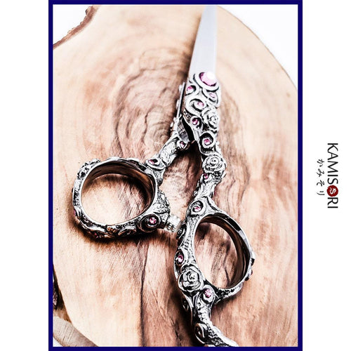 Rose Professional Haircutting Shears - Japan Scissors