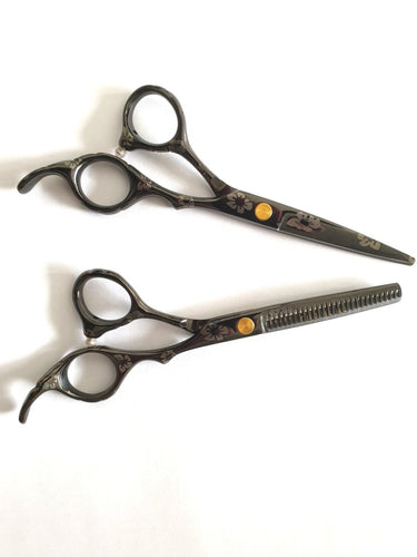 Sakura Cutting & Thinning Scissors Set - Japan Scissors