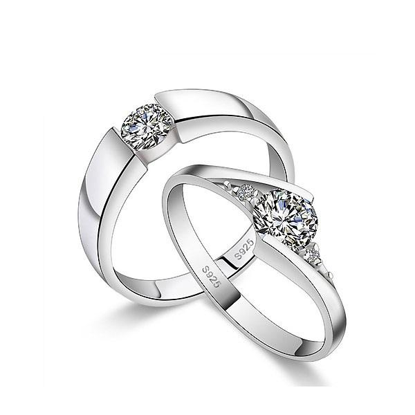 E-Plating European Alloy Engagement Rings