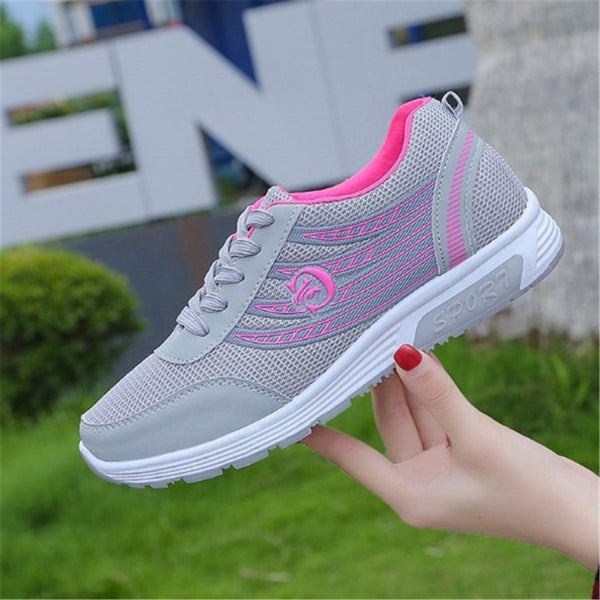 Mid-Cut Upper Slip-On Embroidery Round Toe Outdoor Casual Sneakers