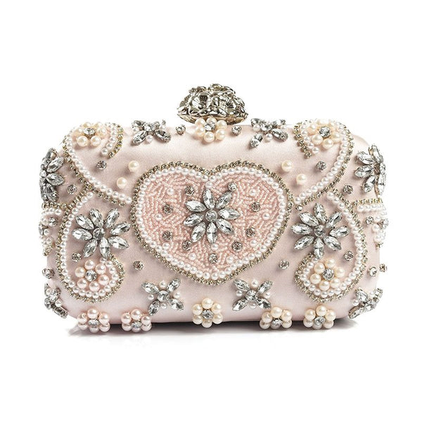 Flap Polyester Banquet Clutches & Evening Bags