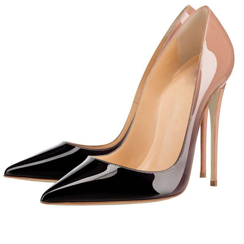 Slip-On Stiletto Heel Pointed Toe Low-Cut Upper 10.5cm Thin Shoes
