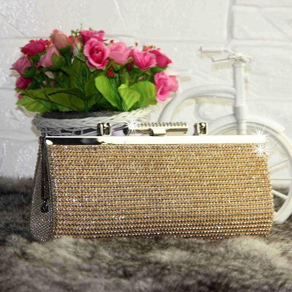 Rhinestone Banquet Clutches & Evening Bags