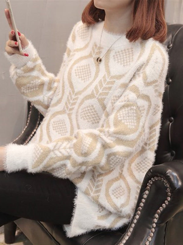 Regular Thick Fall Long Sleeve Sweater