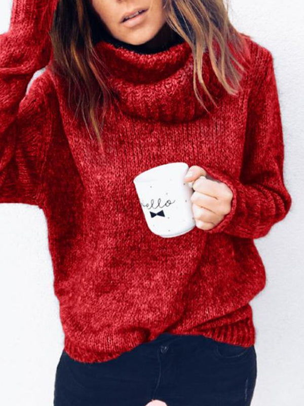 Regular Fall Long Sleeve Sweater