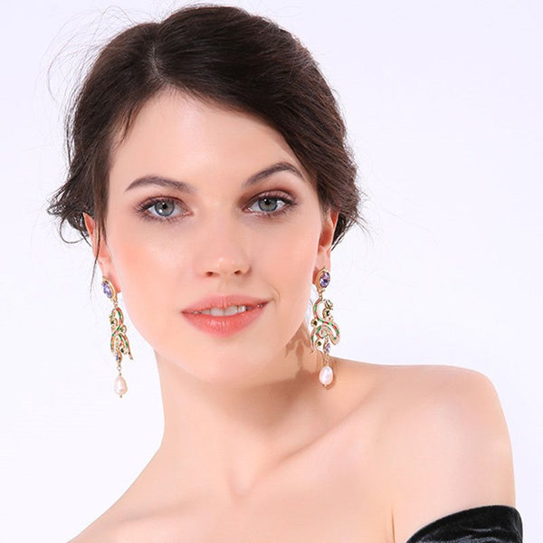 European Animal Alloy Wedding Earrings