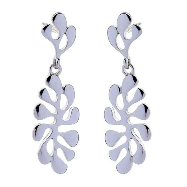 Plain E-Plating Alloy Holiday Earrings