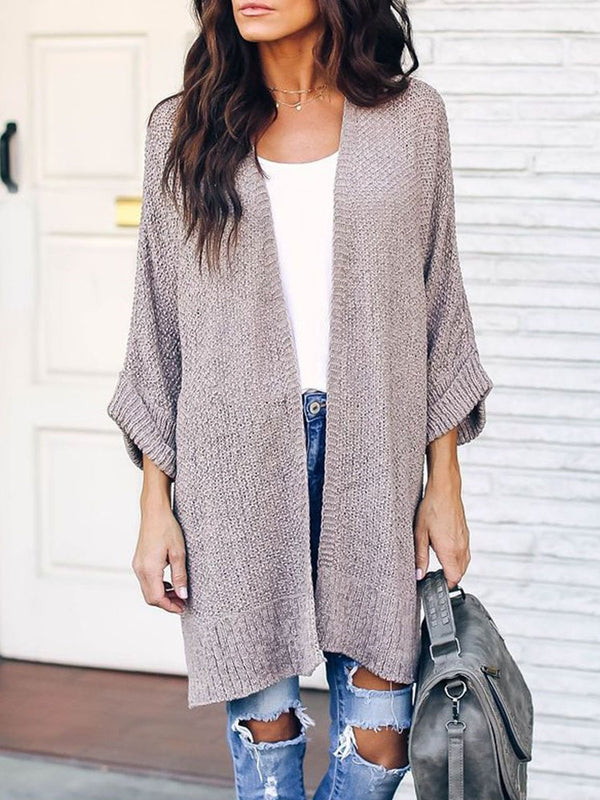 Nine Points Sleeve Loose Sweater