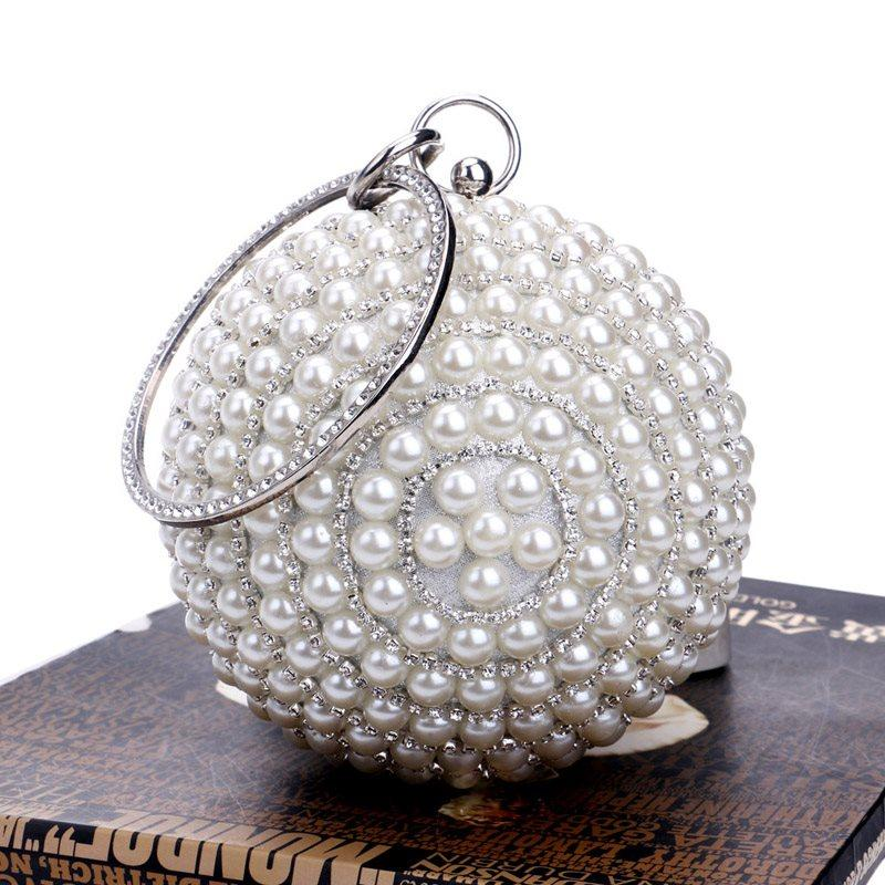 Polyester Versatile Circular Clutches & Evening Bags