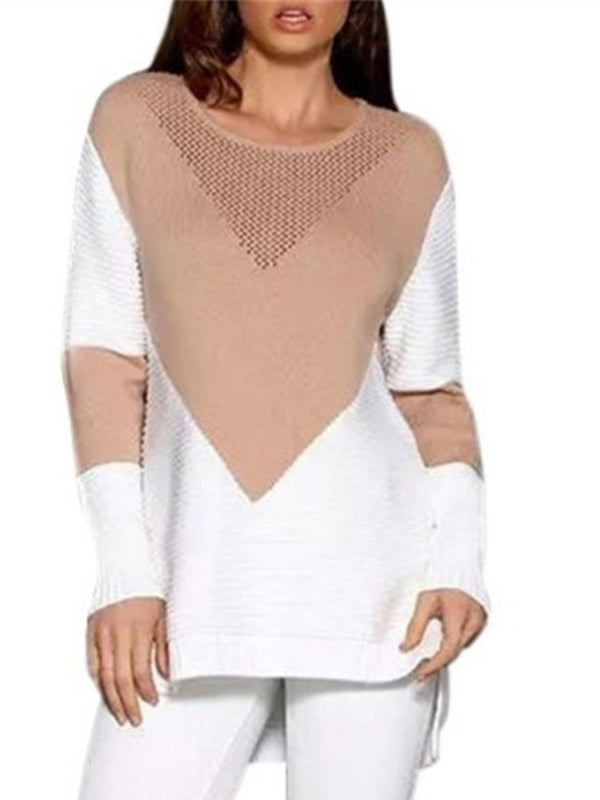 Regular Long Sleeve Loose Sweater