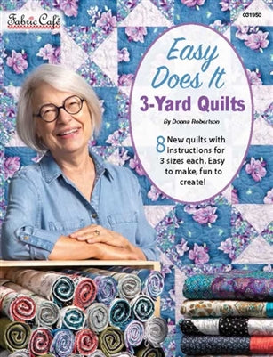 Easy Does It - 3 Yard Quilts Pattern Book QS 44 - Daz Fabrics