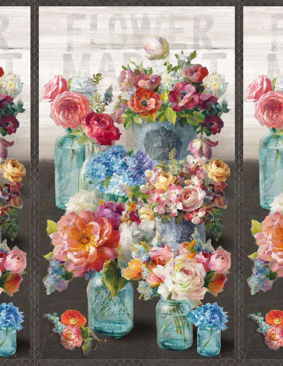 Flower Market Collection by Danhui Nai - Large Multi 24
