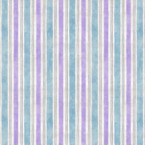 Flower Market Collection by Danhui Nai - Stripe Blue - Y726 - Daz Fabrics