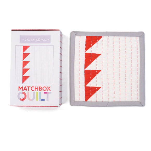 Matchbox Quilt - Red - Kit