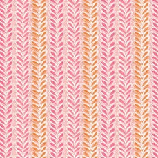 The Makers by Cori Dantini - Leafy Parade Pink - Yardage - Daz Fabrics