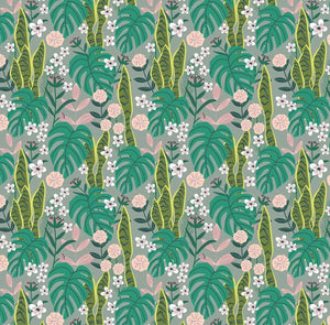 Junglemania Collection by Mia Charro - Sansevieria Turquoise - Y2019 - Daz Fabrics