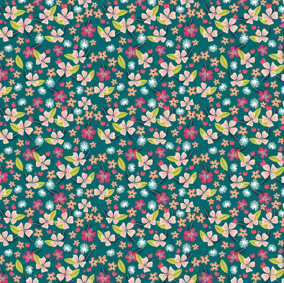 Junglemania Collection by Mia Charro - Little Brave Teal - Y2017 - Daz Fabrics