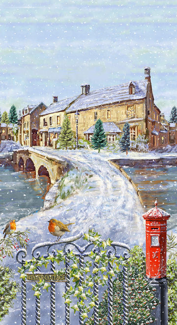 Winter Cottage Collection by Marcello Corti  - Winter Scenery Banner -  24