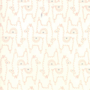 Soft & Sweet Flannel Collection by Stacy lest Hsu - Pink Cream - Yardage - Daz Fabrics