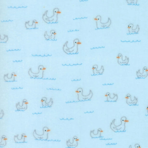 Soft & Sweet Flannel Collection by Stacy lest Hsu - Light Blue - Y2319 - Daz Fabrics