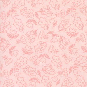 Soft & Sweet Flannel Collection by Stacy lest Hsu - Light Pink - Yardage - Daz Fabrics