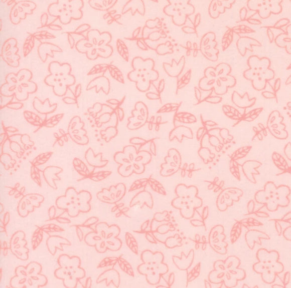 Soft & Sweet Flannel Collection by Stacy lest Hsu - Light Pink - Y2320 - Daz Fabrics