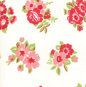 Little Snippets Collection by Bonnie & Camille - Little Snippets Cream - Yardage - Daz Fabrics