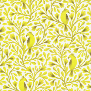 Birds & Branches Collection by Kirsten Sevig - Citrine - Yardage - Daz Fabrics