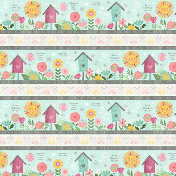 Keep Shining Bright by Anne Rowan - Repeating Multi Stripe - Y2219 - Daz Fabrics