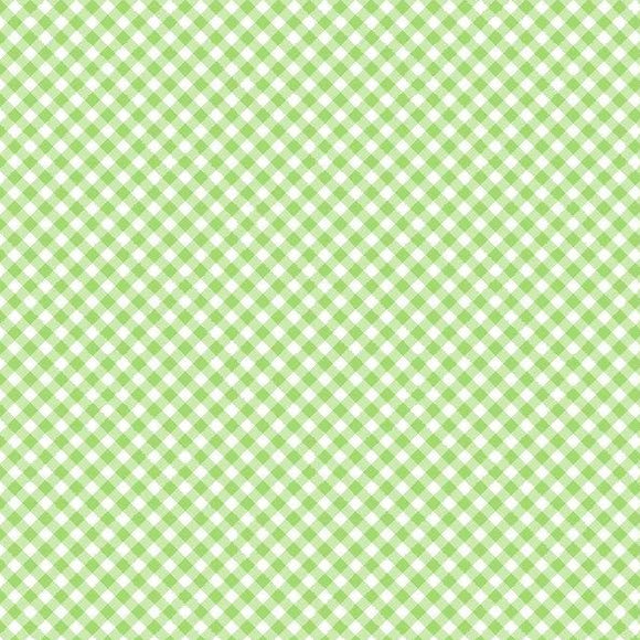 Adventure Time Collection by Wilmington Prints - Gingham Green - Y2224 - Daz Fabrics
