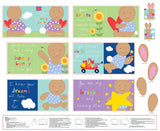 "Huggable & Loveable - You Are - 36"" Book Panel - Daz Fabrics"