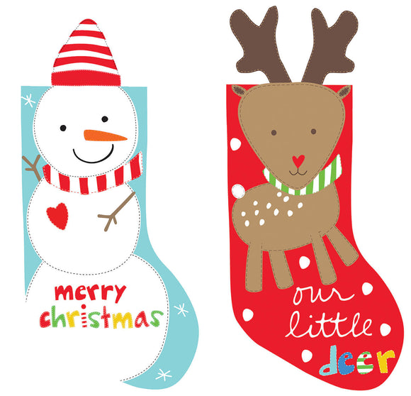 Huggable & Loveable - Holiday Stockings - 36