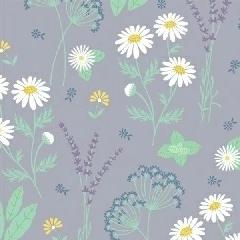 My Cup of Tea by Windham Fabrics - Garden Herbs Lavender - Y207 - Daz Fabrics